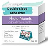 JourneyCraft - 3/8-Inch Photo Mounting Squares | Great for Scrapbooking, Card Making & Pho...