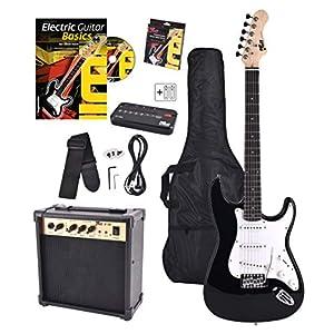 Rocktile Bangers Pack - Set de guitarra eléctrica, 8-piezas ...