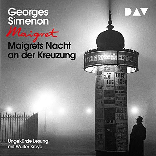 Maigrets Nacht an der Kreuzung cover art
