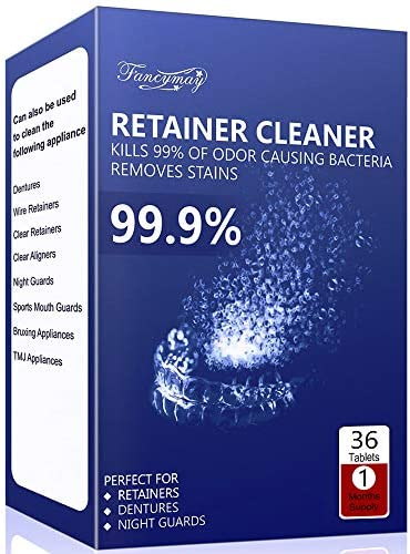 Retainer Cleaning Tablets - New Formulation (120 Tablets Pack, 4 Months Supply)