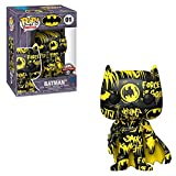 Funko POP! Art Series: DC Comics #01 - Batman [Black & Yellow] Artist Series Exclusive with Hard Sta...