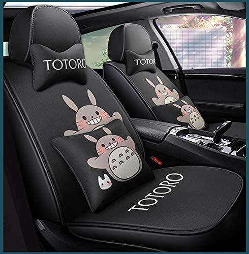 Qianyuyu Totoro Sitzbezüge Auto Hochwertiges Sitzkissen Aus Polyester Mode Cartoon Totoro Autositzkissen,003