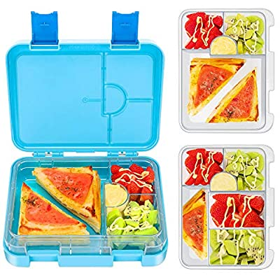 Bento Box for Kids, Tritan-Made 100% BPA Free L...