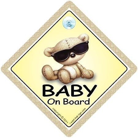 Baby On Board Sign Car Baby On Board Sign Car Baby Auto Schild Enkelkind On Board