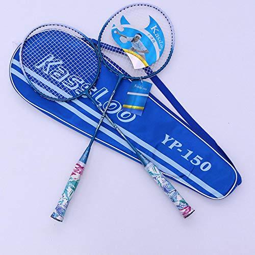 xiaoxioaguo Raqueta de bádminton Spot Big Sweet Zone elástica de aluminio y carbono integrado raqueta de juego de tiro