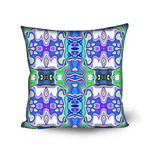 MHUI Fundas de cojín Decorativas para sofá Cama Fundas de cojín de partículas Suaves 18 x 18 Pulgadas 50 x 50 cm,B