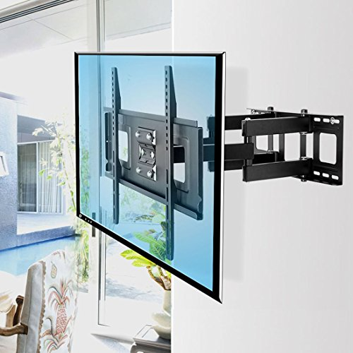 Fleximounts A04 Support Mural TV Ultra Pivotant et Inclinable pour Les écrans Plats de 32