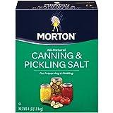 Morton Canning & Pickling Salt, 4 Pound Box (Pack of 9)