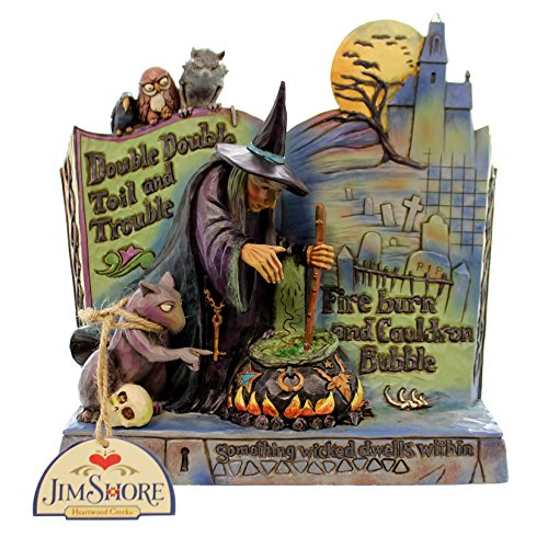 "Figura de bruja ""Hechizo de Bruja Book Halloween"""