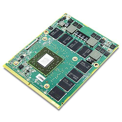 Tarjeta gráfica AMD ATI Mobility Radeon HD 5870, para MSI Laptop GT683 GX660 GX740 GX640 GT680 GT680, 1 GB GDDR5 MXM 3.0 VGA placa de reparación de piezas