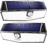 LITOM 200 LED Solar Lights Outdoor, 3 Optional Modes Wireless Motion Sensor...