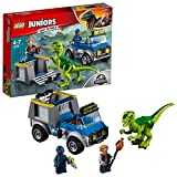 LEGO Juniors Jurassic World - Le camion de secours des raptors - 10757 - Jeu de Construction