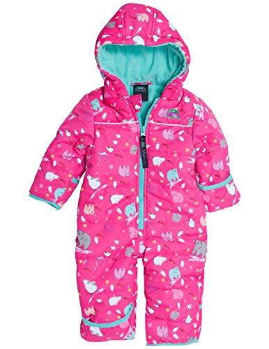 Molehill - mono de invierno infantil (niño y niña) - MH16-2002-03m, 3 Meses, Frosty Pink