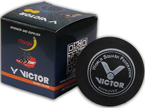 Victor Squashbälle 4x sehr langsam , doppelgelb I