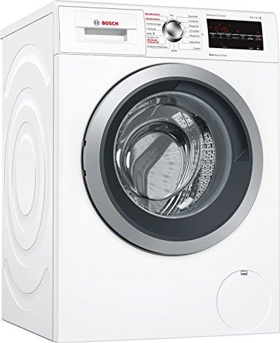 Bosch WVG30443 Serie 6 Waschtrockner / A / 952 kWh/Jahr / 7/4 kg / 1500 UpM / Weiß mit Glastür / EcoSilence Drive™ / Nachlegefunktion