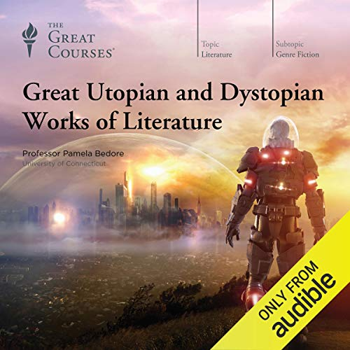 Couverture de Great Utopian and Dystopian Works of Literature