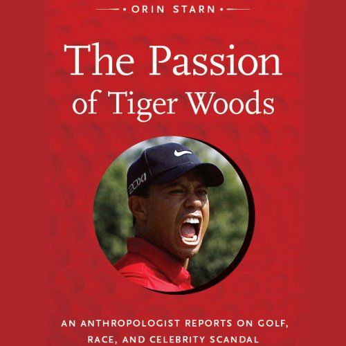 The Passion of Tiger Woods audiobook cover art