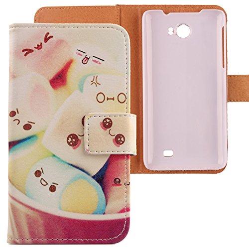 Lankashi PU Flip Leder Tasche Hülle Hülle Cover Schutz Handy Etui Skin Für Kazam Trooper 2 5.0 Lovely Design