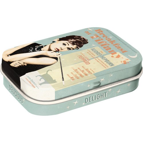 Nostalgic-Art 81247, Breakfast at Tiffany's Blue, Pillendose
