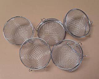 Metal Finch Canary Bird Nests Lot of 5 by Mcage