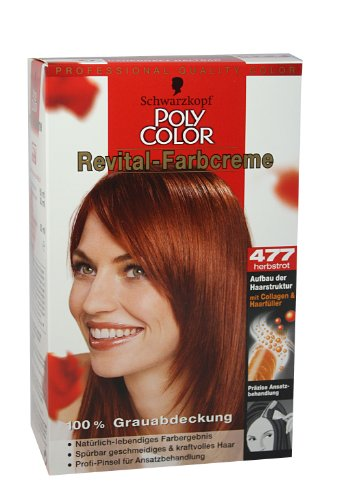 Schwarzkopf Poly Color Revital Farbcreme 477 Herbstrot