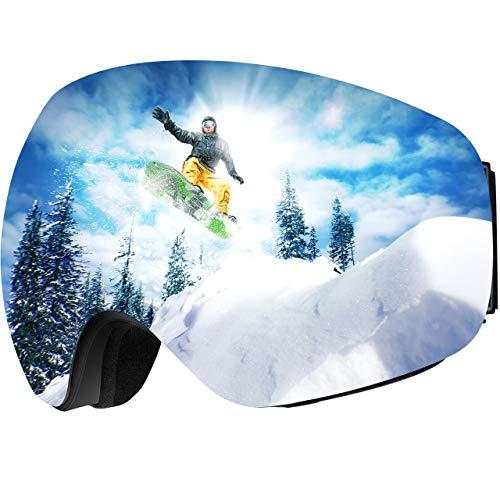 OMORC OTG Ski Goggles, Anti-Fog...