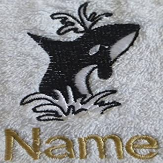 Bath Towel or Bath Sheet Personalised with ANCHOR logo and name of your choice EFY Face Cloth Face Cloth 30x30cm Hand Towel