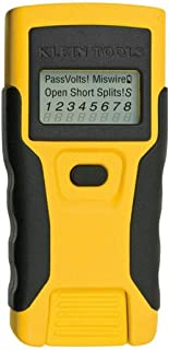 FidgetKute VDV LAN Scout Jr Tester Twisted Wire Cable Detector Digital LCD Tool Show One Size