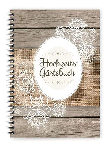 Hochzeits-Gästebuch: Mit den liebsten Glückwünschen an das Brautpaar