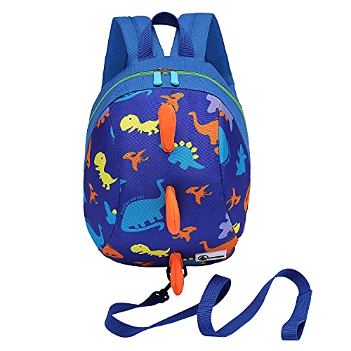 Product Image of the DB Dinosaur Toddler mini backpack with leash,children Kids baby harness bookbag