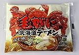 新 毛がに味北海道ラーメン みそ味 1袋 インスタントラーメン 毛ガニ らーめん 袋麺 マツコの知らない世界