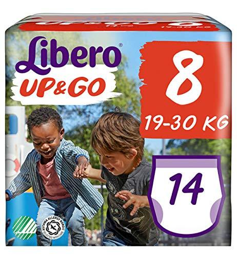 Libero UP&GO Pants 8 (19-30kg.) 4 x 14 Stück (56 Windeln)
