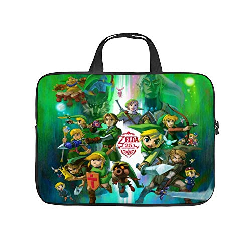 Zelda The Legend of Zelda Link Video Games,Universal Laptop Computer Tablet,Bag,Cover for,Apple/MacBook/HP/Acer/Asus/Dell/Lenovo/Samsung,Laptop Sleeve 15.6x11 Inch