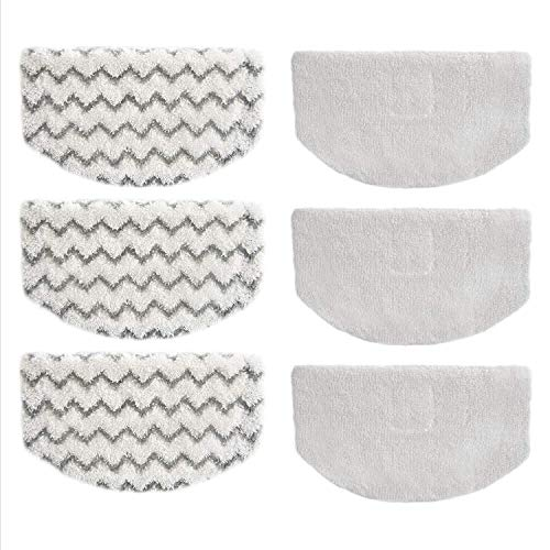 BIHARNT 6 Pack Washable Steam Mop Pads Replacement for Bissell PowerFresh 1940 1806 1544 2075 Series Steam Cleaner