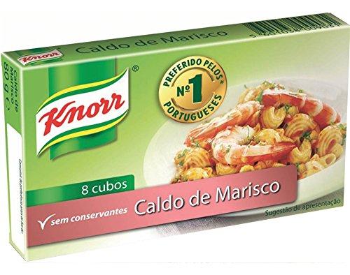 Knorr, Caldo de Marisco, Zeevruchtenbouillon, 10 x 8 g