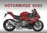 Motorcyle Calendar - Calendars 2019 - 2020 Wall Calendar - Motorcycle Calendar - Photo Calendar - Moto GP Calendar - Motorbikes Calendar by Helma (Multilingual Edition)