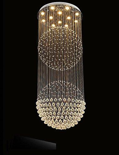 hlq Lampadari–Cristallo/LED–Contemporaneo/Tradizionale/Classico/Rustico/campestre/Tiffany/Vintage/Rustico/Isola–, Cool white-220–120V