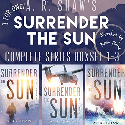 Surrender the Sun Series Boxset: Books 1-3 Apocalyptic Dystopian Thriller Titelbild