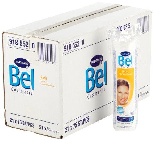 Bel Cosmetic Pads (art. 918552), 21, Sachet de 75