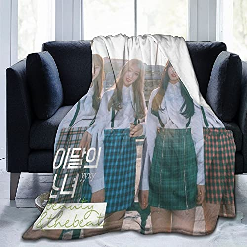 """Beauty&Thebeat - Ep (by Loona + Yyxy) Blanket Throw Blankets for Couch Sofa 80""""X60"""""""
