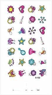 Tijdelijke Tatoeages 3 Vellen Waterdichte Nep Tattoo Sticker Moon Star Wond Veer Cross Body Art Nep Tattoo Arm Borst Nek V...