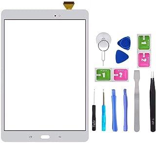 Tefir Blanco Pantalla táctil de Cristal para Samsung Galaxy Tab A 9.7