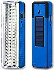 Pick Ur Needs Plastic Solar LED Emergency Light, Multicolour