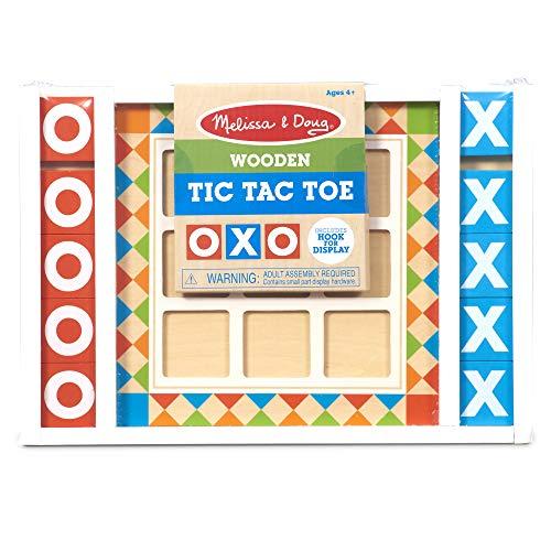 Melissa & Doug Wooden Tic Tac Toe