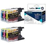 LCL Cartucho de Tinta Compatible LC1220 LC1240 LC1240C LC1240M LC1240Y (2Cian 2Magenta 2Amarillo) Reemplazo para Brother MFC-J6910CDW J6710CDW J5910CDW J825N J955DN J955DWN J705D J705DW J710D