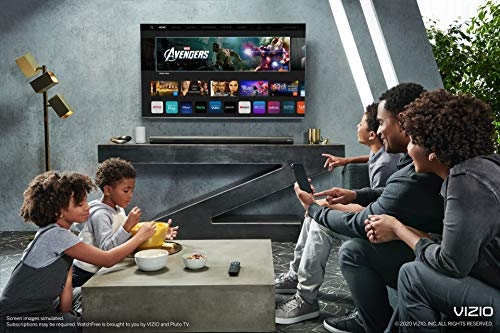 VIZIO 65 inch 4K Smart TV, P-Series Quantum UHD LED HDR Television with Apple AirPlay and Chromecast Built-in