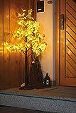Hellum érable arbre arbre lumineux Décoration Lampe Arbre Lumineux Lumières érable 96ampoules blanc chaud 120cm