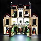 BRIKSMAX Kit de Iluminación Led para Lego Caos del Indorraptor en la Mansión Lockwood, Compatible con Ladrillos de Construcción Lego Modelo 75930, Juego de Legos no Incluido