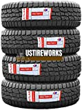 Set of 4 Atlas Crosswind A/T All Terrain Radial Tires-265/70R17 115T Tires