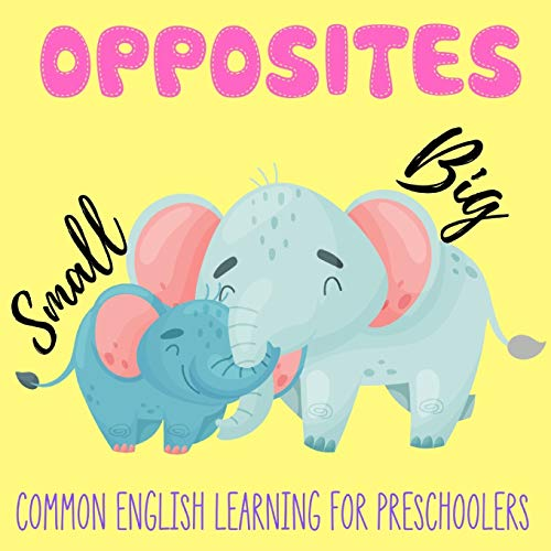 Opposites: Early Learning Book for Preschoolers Toddlers 2-4 years old Beautiful Gifts idea for Baby